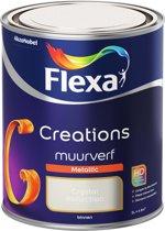 Flexa Creations - Muurverf Metallic - 4014 - Crystal Reflection - 1 liter