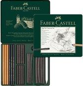 houtskoolset Faber-Castell