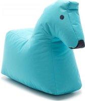 Sitting Bull Happy Zoo zitzak Lotte het Paard blauw