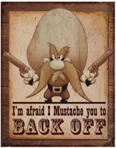 Metalen Retro Bord Yosemite Sam