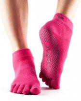 ToeSox sokken met tenen - fuchsia