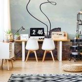 Fotobehang Zebra Stripes | VEXXL - 312cm x 219cm | 130gr/m2 Vlies