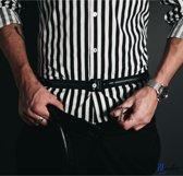 Mudoc shirt stays belt - Shirt stays - Geen kreukels  - Shirt tucker - Overhemd Riem – Onderkleding Riem - Kleding accessoire - -Elastische buik riem - In broek houden - Houder - Werk kantoor Casual - Bruiloft Wedding Smoking