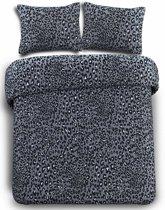 Day Dream Panter dekbedovertrek - Grijs - 1-persoons (140x200/220 cm + 1 sloop)