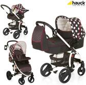 Hauck - Malibu XL All in one Kinderwagen - Dots Black