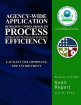 Agency-Wide Application of Region 7 Npdes Program Process Improvements Could Increase EPA Efficiency