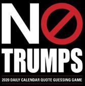 No Trumps 2020 Box Calendar