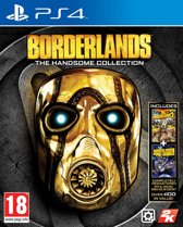 Cover van de game Borderlands: The Handsome Collection - PS4