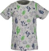 Blue Seven Jongens T-shirt - grijs melee - Maat 62