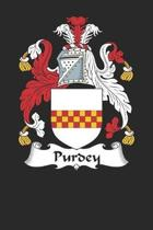 Purdey: Purdey Coat of Arms and Family Crest Notebook Journal (6 x 9 - 100 pages)