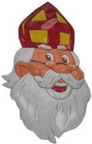 Wanddecoratie Sinterklaas 62 cm