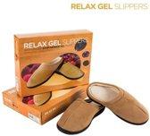 Relax Gel Slippers - Slippers - Beige - Maat 42-44