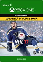 NHL 17 Ultimate Team: 2800 NHL Points - Xbox One