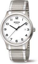 Boccia Titanium 3616.01 horloge - Titanium - Zilverkleurig - 40 mm