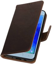 Samsung Galaxy J3 2018 Mocca | Premium bookstyle / book case/ wallet case  | WN™