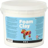 Foam Clay, 560 gr, wit