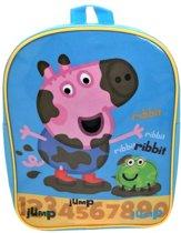 Peppa Pig GEORGE Modder Kikker Rugzak Rugtas School Tas 2-5 Jaar