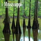 Mississippi, Wild & Scenic 2018 Wall Calendar