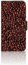 Samsung Galaxy J5 2017 Uniek Boekhoesje Koffiebonen