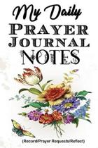 My Daily Prayer Journal Notes