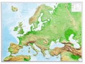 Reliefkarte Europa Gross 1 : 8 000 000