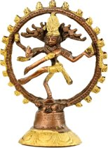 Shiva Nataraj messing 2-kleurig - 20 - 780 - Messing - Metaal