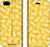 Mobigear Design Mobigear Tropical Design Wallet Bookcase Hoesje 5 iPhone 6 / 6s