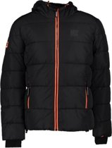 Superdry TAPED SPORTS PUFFER L Black
