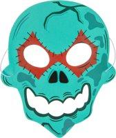 Lg-imports Masker Schedel Junior 19 Cm Groen