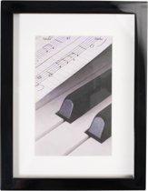 Henzo Piano Fotolijst - Fotomaat 15x20/ 20x30 cm cm - Zwart