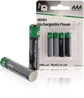 HQ AAA Oplaadbare Batterijen - 950 mAh - 4 stuks