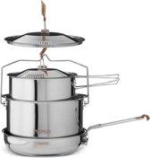 Primus CampFire Campingservies en keukenuitrusting Stainless Steel Large zilver