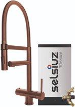 Selsiuz XL Copper met TITANIUM Combi Extra (Combi+) boiler
