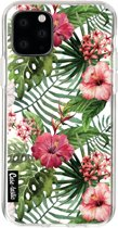 Casetastic Smartphone Hoesje Softcover Apple iPhone 11 Pro - Tropical Flowers
