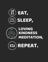 Eat, Sleep, Loving Kindness Meditation, Repeat