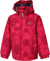 Color Kids Konrod Padded Winterjas AOP Junior  Sportjas - Maat 152  - Unisex - roze