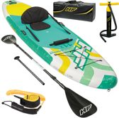 Sup board, kajak set & windsurf sup, paddle board, kano, inclusief pomp en peddel, opblaasbaar