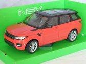 Range Rover Sport 2016 Oranje 1-24 Welly