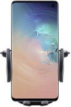 Shop4 - Samsung Galaxy S10 Autohouder Verstelbare CD Houder Zwart met Draaiklem Zwart