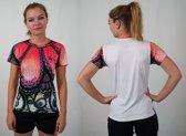 Bones Sportswear Dames T-shirt Peacock maat L