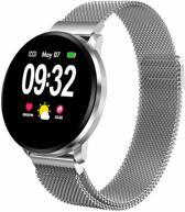 SmartWatch-Trends CF68 - Smartwatch - Zilver metaal