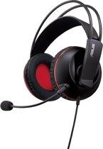 ASUS Cerberus Stereofonisch Hoofdband Zwart, Rood hoofdtelefoon