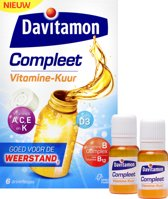 Davitamon Weerstand Compleet - Vitamine Kuur - 6 stuks