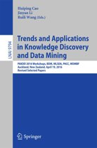 Trends and Applications in Knowledge Discovery and Data Mining