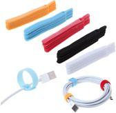 Klittenband Kabel Organizer|Cabel Binders|Kabelbinder 20 stuks|Zwart