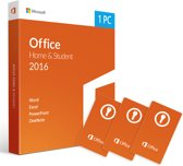3x Microsoft Office 2016 - Home & Student lice
