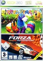 Forza Motorsport 2 + Viva Piñata Double Pack (#) /X360
