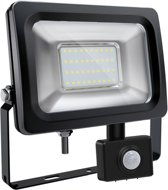 Sensor led floodlight / schijnwerper 30 Watt koud licht