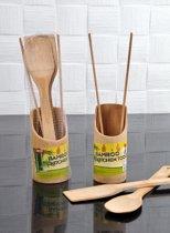 Bamboe 4 stuks kookgerei