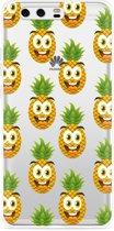 Huawei P10 Plus Hoesje Happy Ananas